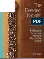 82991159 the Beaded Bracelet Bead Weaving Techniques Patterns for 20 Eye Catching Projects