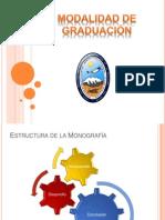 Modalidad de Graduación