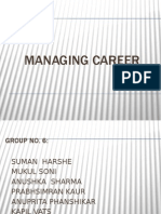 Managing Career