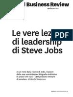 Le Vere Lezioni Di Leadership