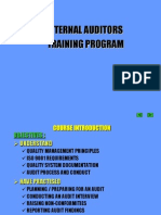 Auditor Training Program