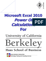 UC Excel 2010 - Module 2 - Calculations