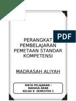 1. Pemetaan Sk b. Arab Ma Kelas x, 1-2