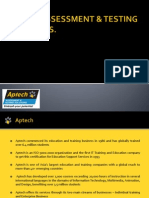 Aptech Assessment & Testing Solutions
