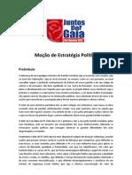 Mocao Politica - Juntos Por Gaia - Maio 2012