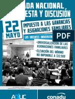ADIUC - Jornada Nacional de Protesta y Discusión