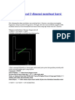 Tutorial Autocad 3 Dimensi Membuat Kursi Furniture
