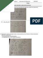 Testes de Química Orgânica I Resolvidos