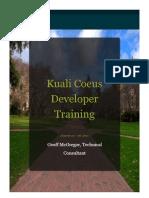 KC Developer Training Final