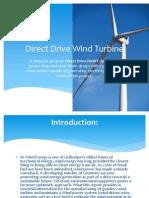 Direct Drive Wind Turbine