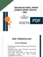 Sirkulasi Parkir Di Surabaya Sport Center