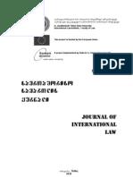 Journal International Law N2-09 N1-10