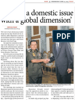 Singapore and Myanmar Relationship - SM Goh in Myanmar 10.06