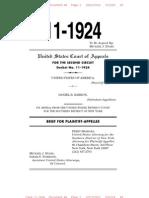 11-1924 2nd Circuit Govt Brief