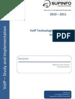 00 - VoIP Technologies Course Description