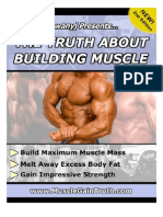 Sean Nalewanyj - The Truth About Building Muscle