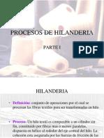 1 PROCESOS DE HILANDERIA
