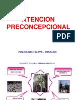ATENCION PRECONCEPCIONAL -2008