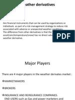 Weather Derivatives Prestn