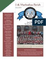 Bulletin - June 3, 2012