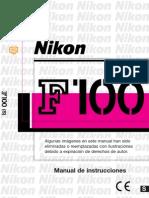 nikon f100 español