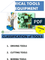 Electrical Tools,Eq, Sup and Mat