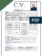 CV Hossam Hassan Embryologist