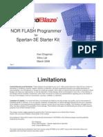 s3esk Picoblaze Nor Flash Programmer