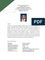 Hoja de Vida Gustavo Molina Medina
