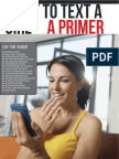 What to Text a Girl a Primer