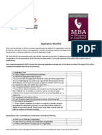 FLP2259 - MBA in Shipping Logistics - Application Guide Checklist Web