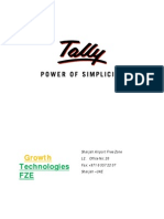 Tally ERP9 Latest Features