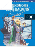 58952260 Dungeons Dragons TSR 9108 O2 Blade of Vengeance