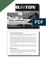 98 Solar Rolls Manual