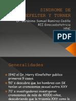 Sindrome de Klinefelter y Turner GSRC 10-2011