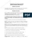 Regimento Eleitoral Conuce:Conunce