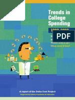 Trends in College Spending 98 08