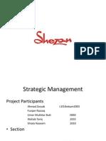 Strategics management formulation of shezan