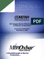 PET Oxygen Barriers