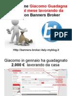 Banners Broker Guadagnare Online