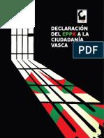 EPPK Declaracion de Gernika 20120602 Castellano