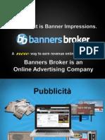 Banners Broker Guadagnare Online Lavorando Da Casa