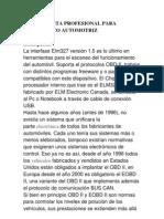 descripcion ELM327