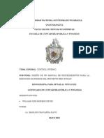 Diseño de un manual de procedimientos