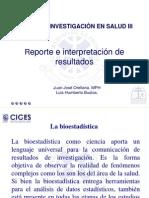 Import an CIA Del Reporte e Interpretacion de Result a Dos
