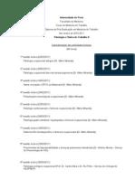 Patologia e Clínica do Trabalho II 2010-11 - final