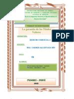 Garantia de Los Titulos Valores Doc1
