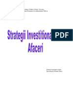 strategii investitionale