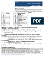 Church Planting - Worksheet #5 (Know Your Neighborhood_part2)
