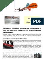 Governador condecora policiais que participaram da ação que capturou envolvidos no estupro coletivo em Queimadas